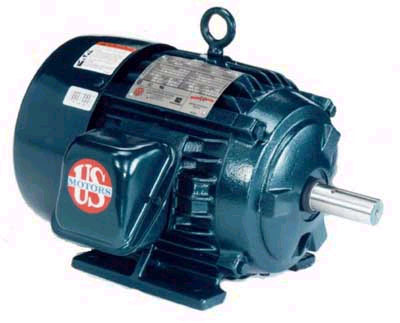 Ac motors totally enclosed ac motor open dripproff for Totally enclosed fan cooled motor